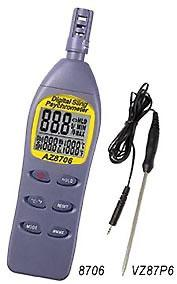 Hygro Thermometer 8706 Hygro Thermometer Data Sheet