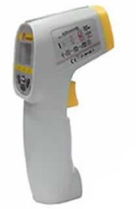 8889 Low Cost Digital Mini Gun Infra Red Thermometer