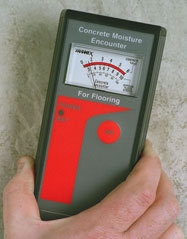 Concrete Moisture Meters - Moisture encounter moisture meter cme