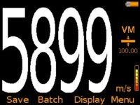 Elcometer MTG8 Ultrasonic Material Thickness Gauge Velocity Mode VM