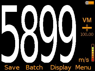 Elcometer MTG6 Ultrasonic Material Thickness Gauge Velocity Mode VM