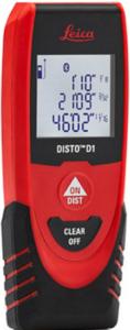 Distance Meters Leica Disto D1 Laser Distance Meter