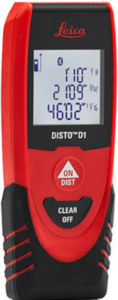 Laser Distance Meters Leica Disto D1 Laser Distance Meter