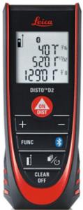 Distance Meters Leica Disto D2 Laser Distance Meter